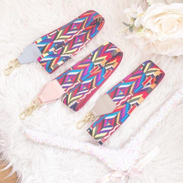 RAINBOW cinta bolso