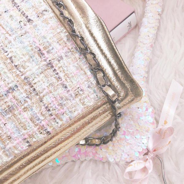 CHIC TWEED bag
